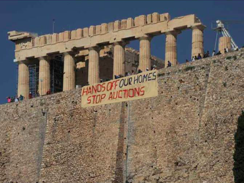 Reporting from Greece