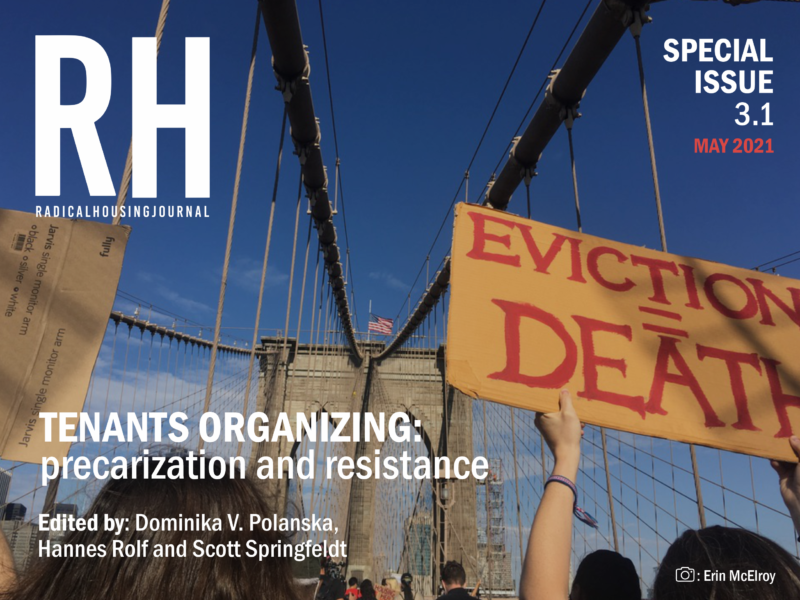 Editorial on 'Tenants organizing: precarization and resistance'